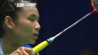 【Video】TAI Tzu Ying VS SUNG Ji Hyun, bán kết CELCOM AXIATA Malaysia Open