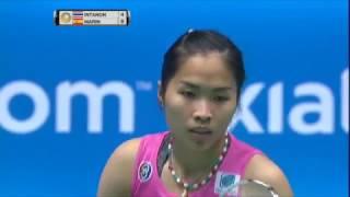 【Video】Ratchanok INTANON VS Carolina MARIN, tứ kết CELCOM AXIATA Malaysia Open