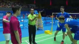 【Video】Marcus Fernaldi GIDEON/Kevin Sanjaya SUKAMULJO VS LIU Cheng/ZHANG Nan, vòng 16 CELCOM AXIATA Malaysia Open