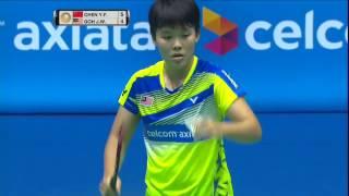 【Video】CHEN Yufei VS GOH Jin Wei, vòng 16 CELCOM AXIATA Malaysia Open