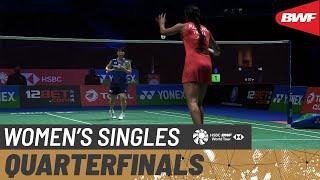 【Video】Akane YAMAGUCHI VS PUSARLA V. Sindhu, tứ kết Giải vô địch cầu lông toàn nước Anh mở rộng YONEX 2021