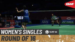 【Video】Aya OHORI VS Busanan ONGBAMRUNGPHAN, vòng 16 Giải vô địch cầu lông toàn nước Anh mở rộng YONEX 2021