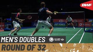 【Video】GOH V Shem/TAN Wee Kiong VS Mark LAMSFUSS/Marvin Emil SEIDEL, vòng 32 Giải vô địch cầu lông toàn nước Anh mở rộng YONEX 2