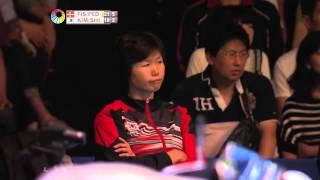 【Video】Joachim FISCHER NIELSEN・Christinna PEDERSEN VS KIM Gi Jung・SHIN Seung Chan, bán kết Yonex Open Japan