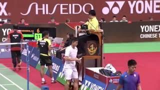 【Video】Iskandar ZULKARNAIN VS CHOU Tien Chen, bán kết YONEX Mở Đài Bắc Trung Quốc