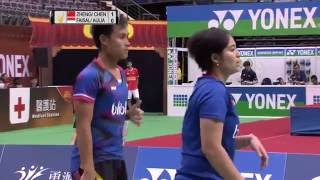 【Video】・CHEN Qingchen VS Hafiz FAIZAL・Shela Devi AULIA, bán kết YONEX Mở Đài Bắc Trung Quốc