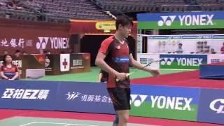 【Video】TAN Kian Meng・LAI Pei Jing VS Riky WIDIANTO・Gloria Emanuelle WIDJAJA, bán kết YONEX Mở Đài Bắc Trung Quốc
