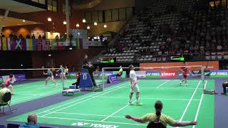 【Video】Kento MOMOTA VS Hans-Kristian Solberg VITTINGHUS, tứ kết YONEX Dutch Open 2017